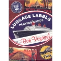 Etiquetas de Equipajes - Luggage Labels playing cards
